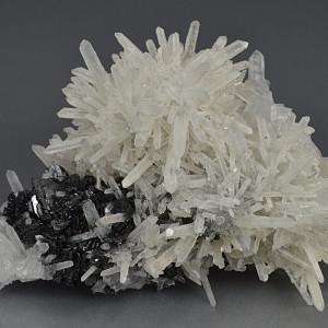 Iridescent Sphalerite, Quartz, Calcite