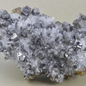 Galena, Cleiophane, Quartz, Pyrite