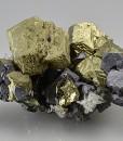 Chalcopyrite , Skeletal Galena, Sphalerite, Pyrite, Quartz