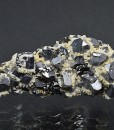 Truncated Galena, Sphalerite, Calcite