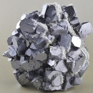Truncated Galena, Quartz, Calcite
