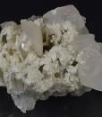 Calcite set on Quartz