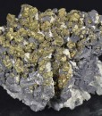 Spinel Law Twin Galena, Chalcopyrite, Calcite, Quartz