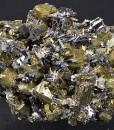 Chalcopyrite, Pyrite, Galena, Quartz, Calcite