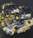 Galena, Pyrite, Sphalerite, Calcite