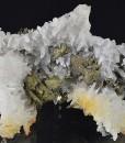 Quartz, Iridescent Chalcopyrite, Pyrite, Galena