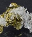 Chalcopyrite, Quartz