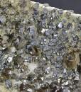 Cleiophane, truncated Galena on matrix