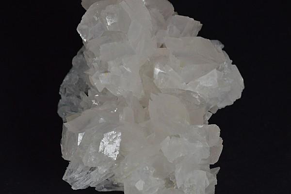 Rhombohedral Calcite set on Quartz