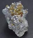 Spinel Law Twin Galena, Chalcopyrite, Quartz, Calcite