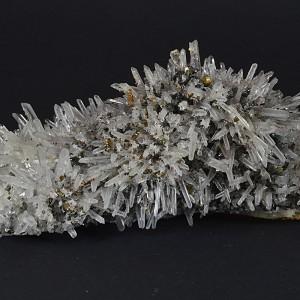 Quartz, Chalcopyrite, Sphalerite, Galena