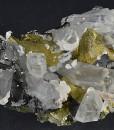 Chalcopyrite, Quartz, Sphalerite, Calcite