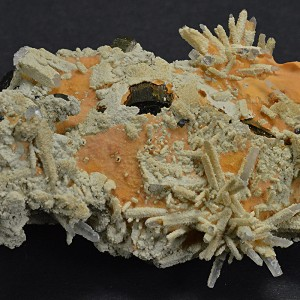 Pyrite, Calcite, Quartz, Sphalerite