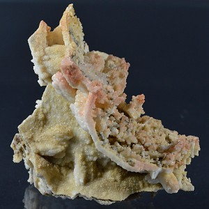 Pseudomorphous after Calcite, Quartz