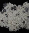 Quartz, gem Sphalerite var.Cleiophane, truncated Galena, Chalcopyrite, Pyrite, Calcite
