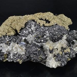 Sphalerite, Pyrite, Quartz, Galena