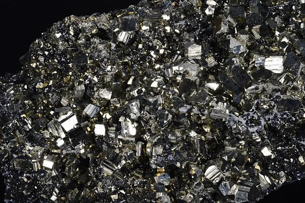 Pyrite, Sphalerite, Galena, Calcite