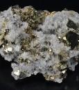 Japan Law Twin Quartz on Pyrite