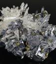 Truncated Galena, Chalcopyrite, Sphalerite, Quartz