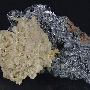 Galena, Quartz, Calcite, Sphalerite