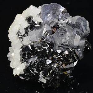 Galena, Sphalerite, rhombohedral Calcite