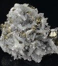 Bi-terminated Quartz, Pyrite, Sphalerite