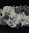 Quartz, Pyrite, Sphalerite, Galena, Calcite