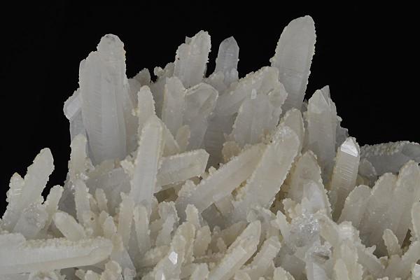 Quartz tinged with Calcite
