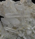 Quartz with Calcite and Sphalerite inclusions