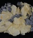 Rhombohedral Calcite, Galena, Sphalerite