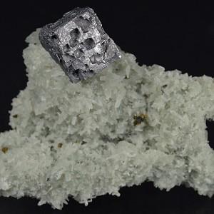 Galena, Quartz, Chalcopyrite