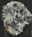 Truncated Galena, Cleiophane, Quartz