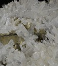 Quartz set on Pyrite