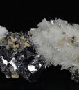Quartz, Galena, Pyrite, Sphalerite, Calcite