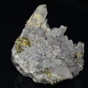 Two generations Quartz, Chalcopyrite, Sphalerite