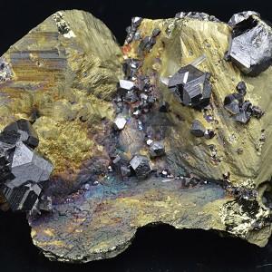 Chalcopyrite, Sphalerite, Quartz