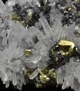 Quartz, Chalcopyrite, Sphalerite