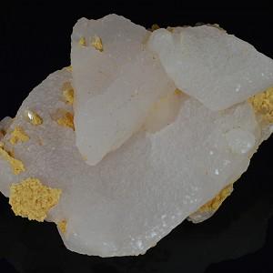 Calcite, Quartz