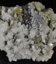 Chalcopyrite, Quartz, Sphalerite, Pyrite
