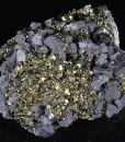 Pyrite, Galena, Sphalerite, Calcite