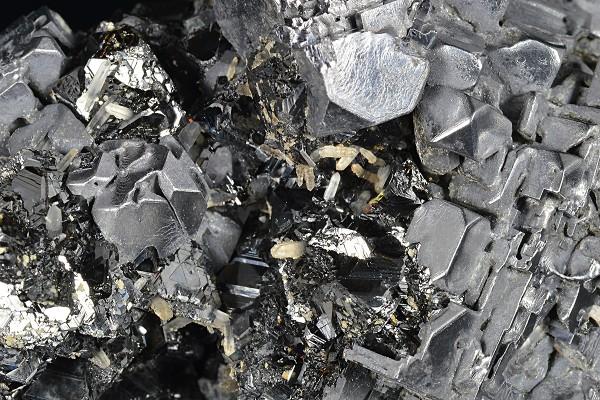 Skeletal Galena, Sphalerite, Quartz