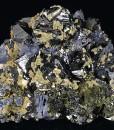 Sphalerite, Chalcopyrite, Calcite, Galena