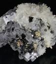 Quartz, Galena, Sphalerite, Calcite