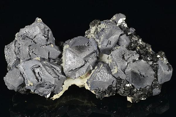 Galena, Sphalerite, Quartz, Calcite