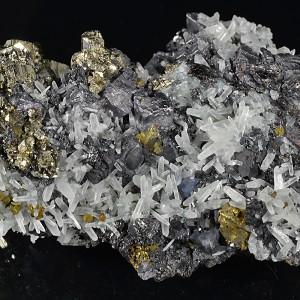 Pyrite, Galena, Chalcopyrite, Quartz, Sphalerite