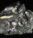 Melted habit Galena, Calcite, Chalcopyrite
