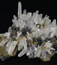 Iridescent Chalcopyrite, Quartz, Sphalerite, Galena