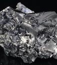Melted habit Galena, Quartz, Calcite