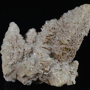 Calcite, gem Sphalerite var Cleiophane, Pyrite