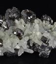 Cleiophane, Quartz, Skeletal Galena